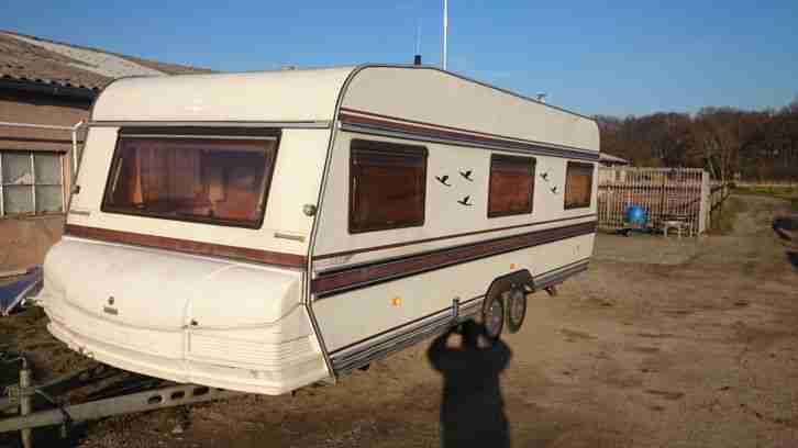 wohnwagen hobby prestige 610 mit vorzellt wohnwagen. Black Bedroom Furniture Sets. Home Design Ideas