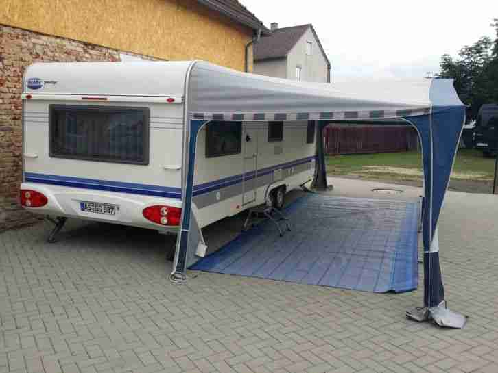 wohnwagen hobby prestige 650 8 meter 2 5 m wohnwagen. Black Bedroom Furniture Sets. Home Design Ideas