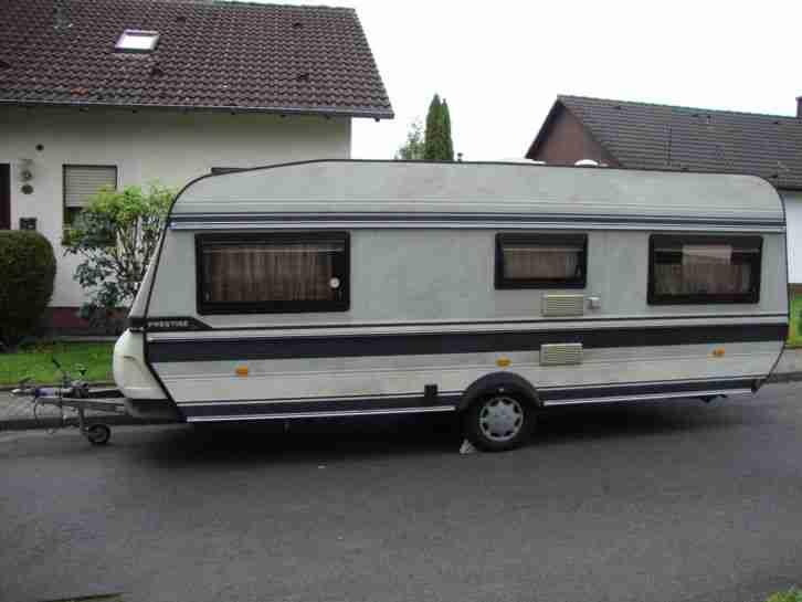 wohnwagen hobby prestige typ 545 wohnwagen wohnmobile. Black Bedroom Furniture Sets. Home Design Ideas