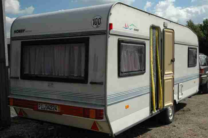 wohnwagen hobby prestige mit vorzelt wohnwagen wohnmobile
