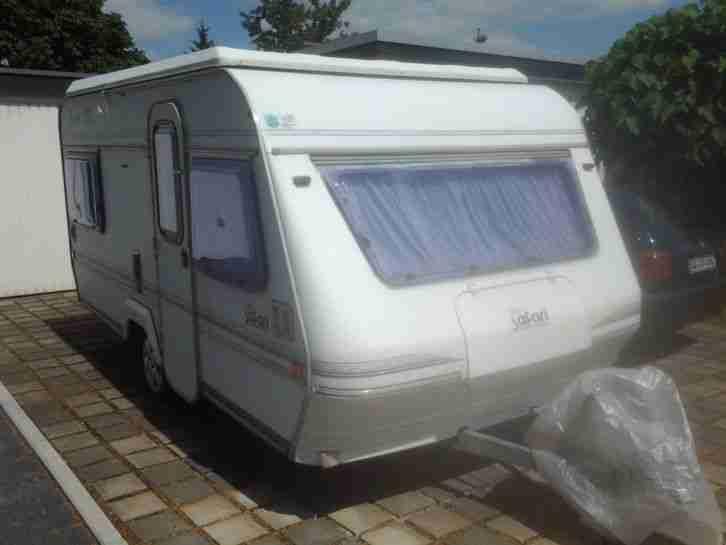 wohnwagen hubdach ci safari easy dd mit vorzelt wohnwagen wohnmobile. Black Bedroom Furniture Sets. Home Design Ideas