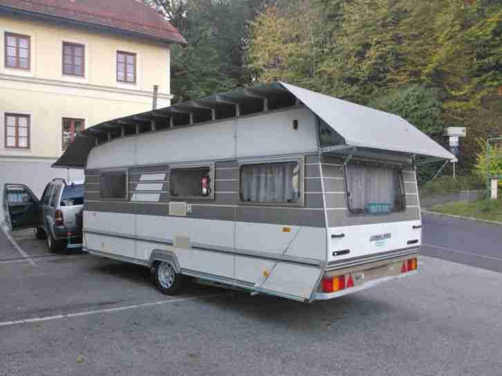 wohnwagen hymer eriba nova 531 sondermodell wohnwagen. Black Bedroom Furniture Sets. Home Design Ideas