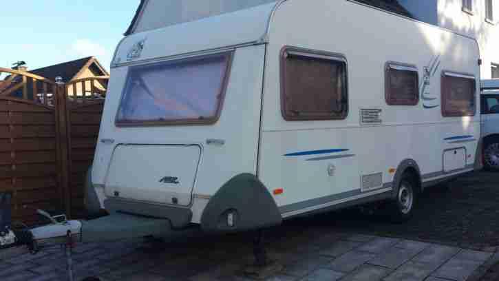 Wohnwagen Knaus Azur 500 Reisefertige Wohnwagen