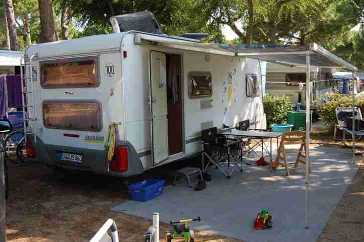 Etagenbett Für Wohnwagen : Wohnwagen knaus südwind tkm etagenbett wohnmobile