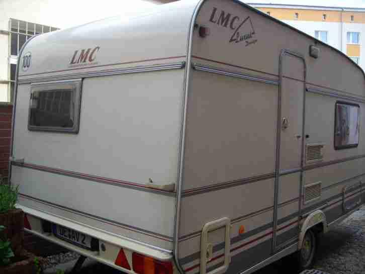 Wohnwagen LMC Caravan Luxus 395 K Bj 97  Wohnwagen
