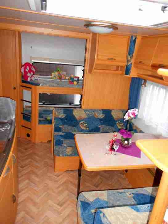 wohnwagen lmc luxus 560 mdk etagenb wohnwagen wohnmobile. Black Bedroom Furniture Sets. Home Design Ideas