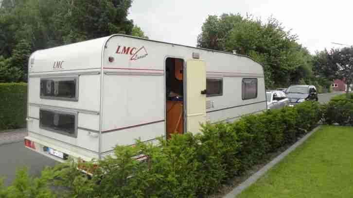 wohnwagen lmc luxus 591p stockbett festbett wohnwagen. Black Bedroom Furniture Sets. Home Design Ideas