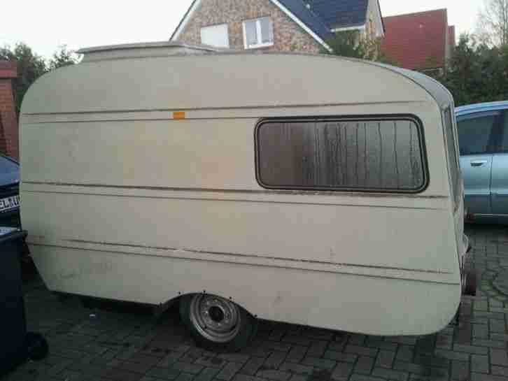 wohnwagen queck junior oldtimer wohnwagen wohnmobile. Black Bedroom Furniture Sets. Home Design Ideas