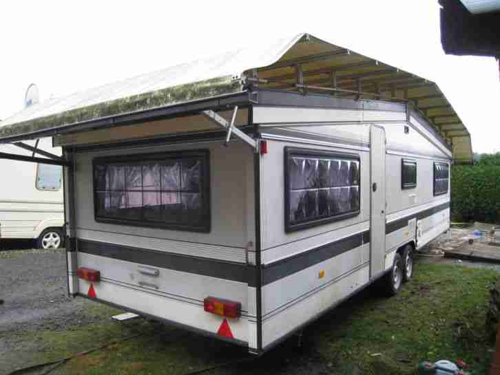 wohnwagen schutzdach berdach wohnwagen wohnmobile. Black Bedroom Furniture Sets. Home Design Ideas