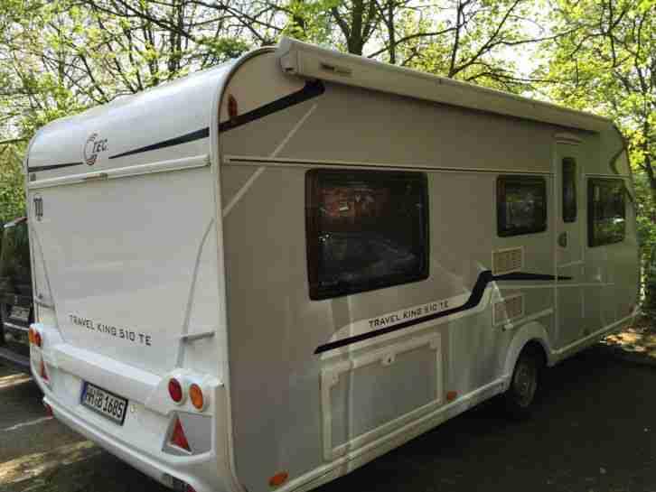 wohnwagen tec travel king 510 wohnwagen wohnmobile. Black Bedroom Furniture Sets. Home Design Ideas