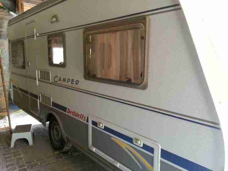 wohnwagen typ dethleffs camper 460 db wohnwagen wohnmobile. Black Bedroom Furniture Sets. Home Design Ideas