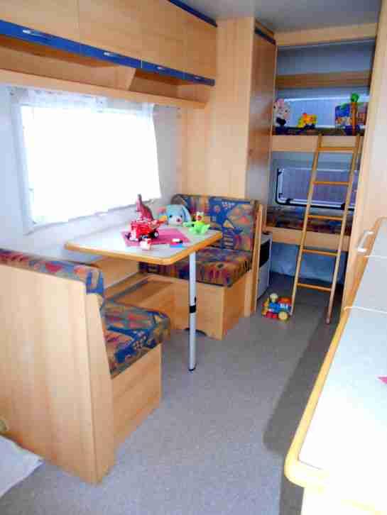 wohnwagen wilk safari 500tk etagenbett f r 5 wohnwagen wohnmobile. Black Bedroom Furniture Sets. Home Design Ideas