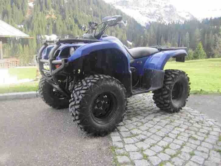Yamaha Grizzly 660 Quad Atv