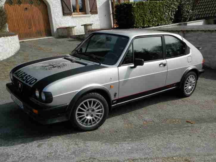 alfasud ti 1,5 1983 75000 km no rust like new