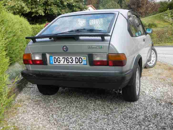 alfasud ti 1983 105 cv perfect 137000km