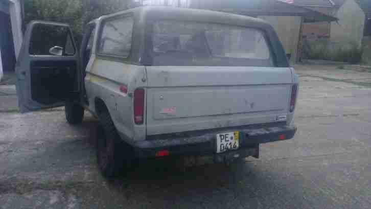 ford Bronco restaurations
