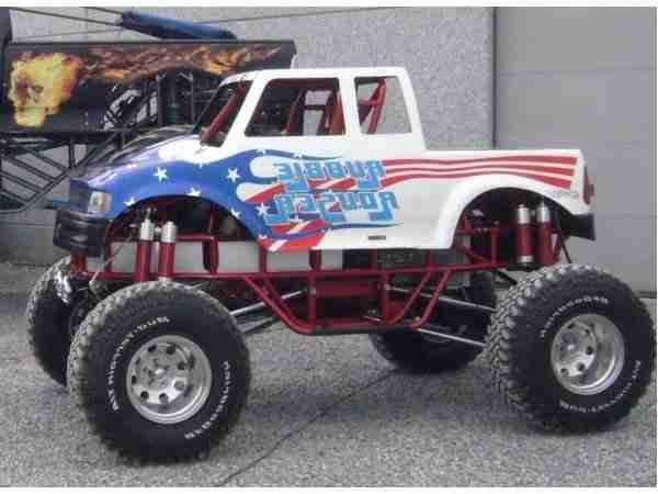 Mini monstertruck