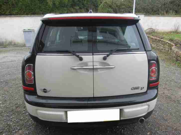 mini one 1.6 d clubman 90 ps