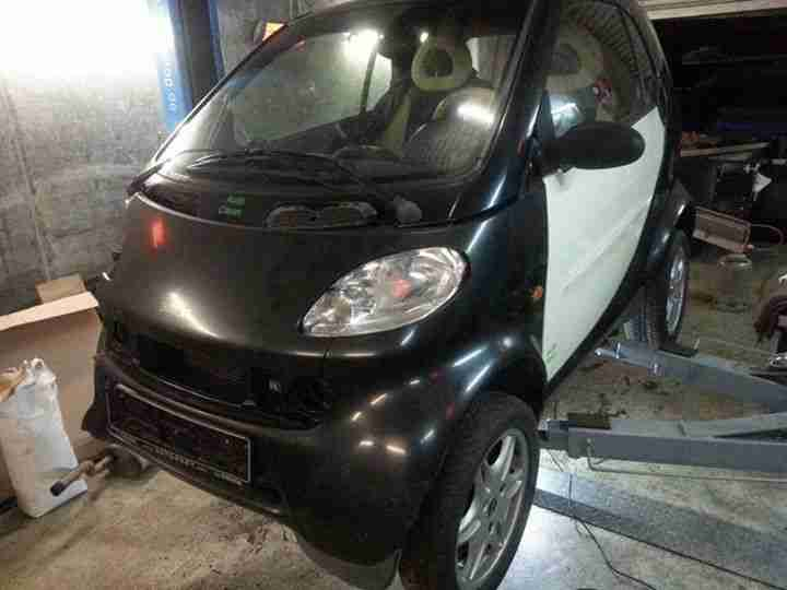 smart for two 450 bj 2000 edition 1 teilleder panoramadach teilespender 160tkm