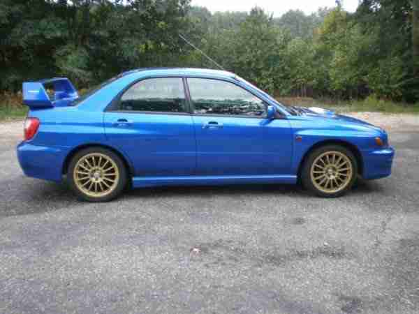 subaru wrx turbo in top zustand