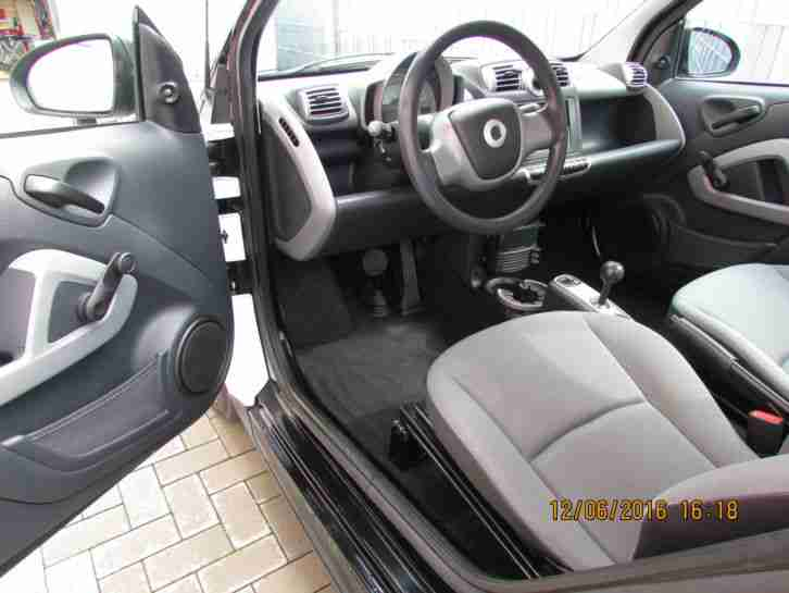 super gepflegter Smart Fortwo Coupe Pure Klima, Radio, CD, 64500 km, Scheckheft