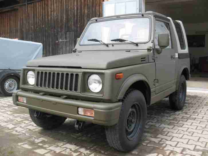 suzuki sj samurai 410 413 4x4 jeep offroad neue angebote. Black Bedroom Furniture Sets. Home Design Ideas