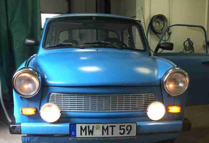 trabant 601 S 1A Zustand ( Ohne TÜV ) BJ 89 ????????