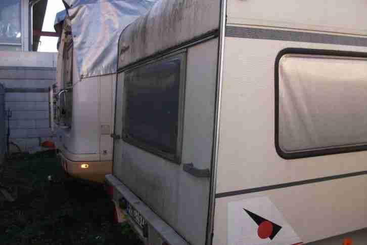 wohnwagen b rstner scala tk 490 bj 1994 mit wohnwagen. Black Bedroom Furniture Sets. Home Design Ideas